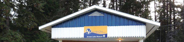 Vantage One Credit Union >> About: Arrow Lakes Branch - VantageOne Credit Union